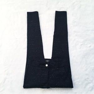 Ann Taylor Loft Navy Blue Marled Skinny Pants